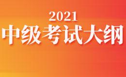 2021年度  全国会计专业技术中级资格考试大纲